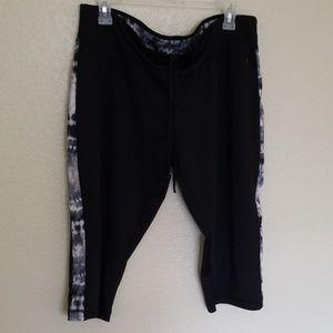 Drawstring active wear pants